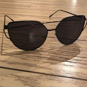 Free People Black Sunglasses